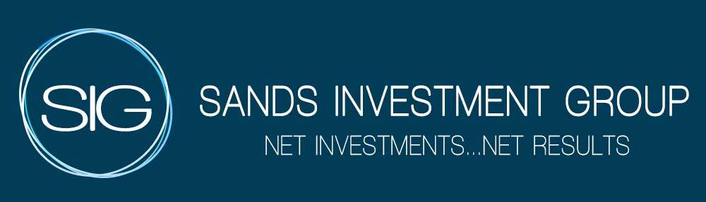 Sands Investment Group Logo Design Elevated Tree