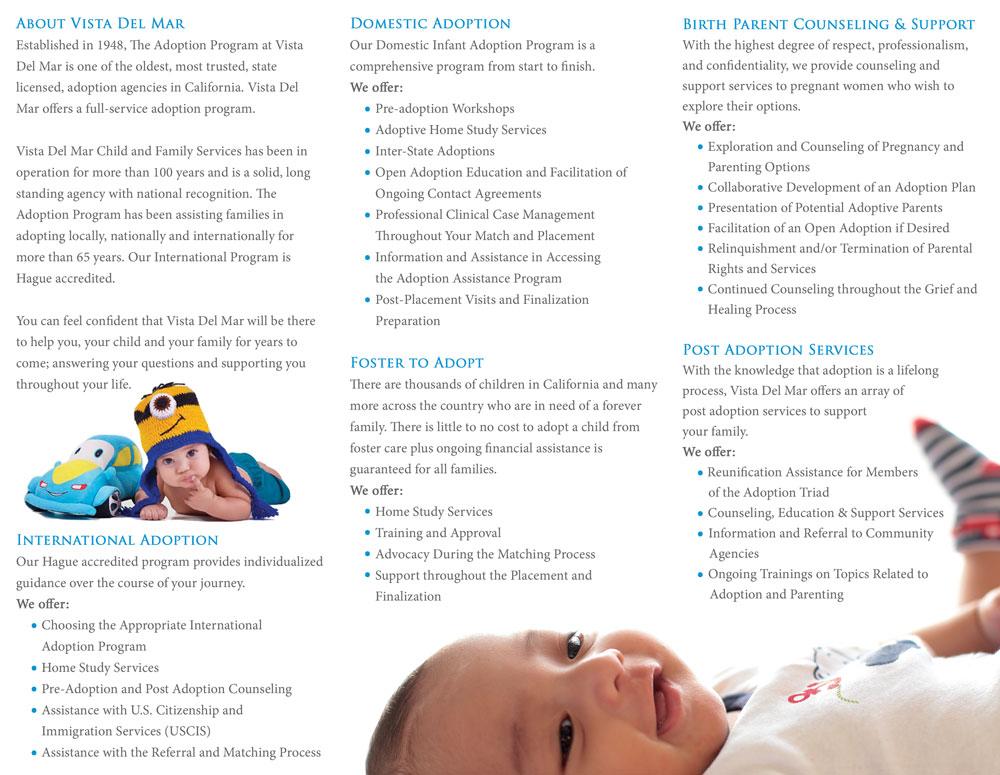 Vista Del Mar Adoption Brochure